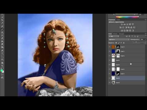 Как в фотошопе сделать раскраску из картинки