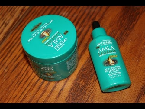 Optimum AMLA Legend Billion Hair Potion & 1001 Oil Cream Night Wrap