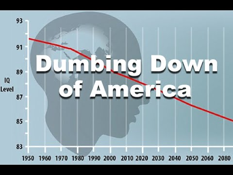 Scientists: People ARE Getting DUMBER - Average IQ Continues to Drop