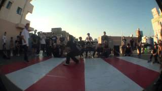 PRIDE OF BBOY VOL 2 16강 Zunik vs Tino roc