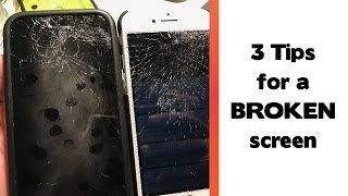 3 Things To Do After Breaking A Smartphone Screen