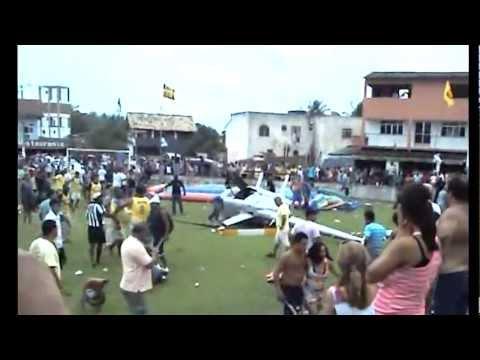 Acidente com helicóptero em Iguabinha - 30/12/2011