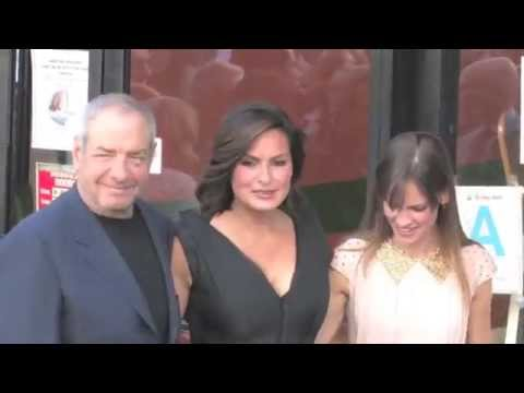 Hilary Swank Attends Star Ceremony For Mariska Hargitay