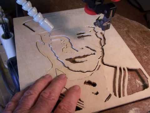 Scrollsaw Shadow Portraits