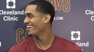 Jordan Clarkson Post-Practice Interview / Feb 21 / 2017-18 NBA Season
