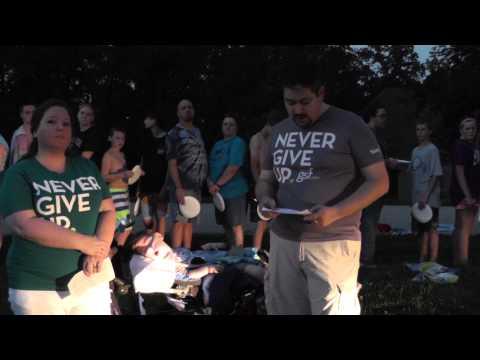 #SMAshAwaySMA - SMA - Spinal Muscular Atrophy - Benjamin Moss - Central Baptist Church, Eureka, MO - 08/25/2014