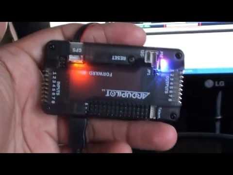 APM 2.5 Ardupilot controller-  setup guide 1 of 4