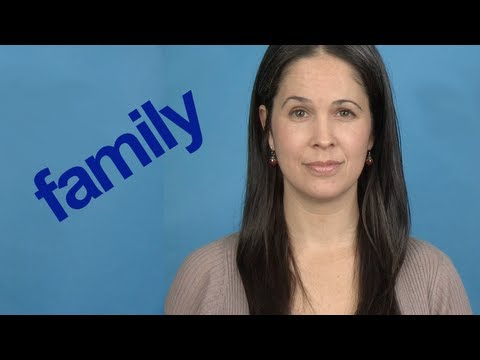 How to Pronounce FAMILY – Word of the Week – American English Pronunciation