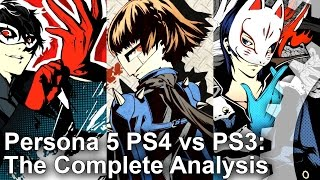 Persona 5 PS4 vs PS3 Graphics Comparison + Frame-Rate Test + Analysis