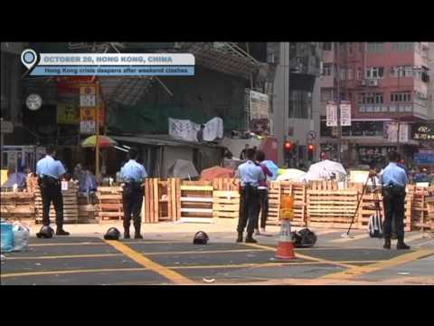 Hong Kong Pro-Democracy Protests: Crisis deepens after weekend clashes