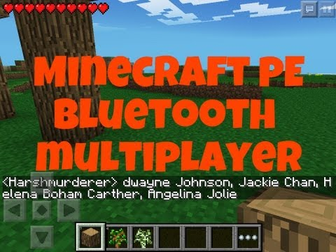 ✔ Minecraft PE Bluetooth Multiplayer