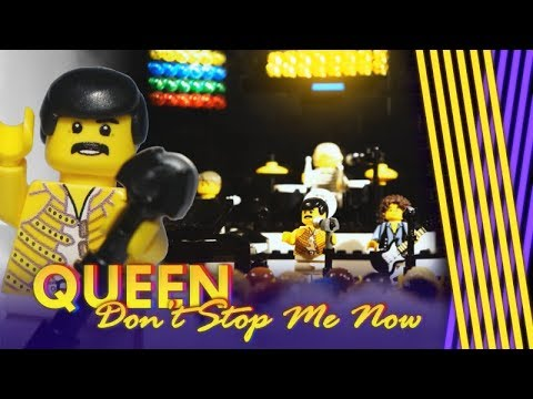 Queen - Don't Stop Me Now (LEGO Music Video)