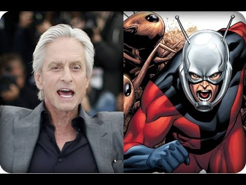 Michael Douglas Says He's Heading To Comic-Con For ANT-MAN - AMC Movie News