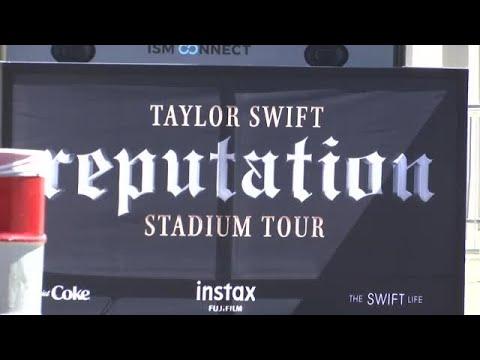 Swifties arrive for Taylor Swift's Reputation Stadium Tour