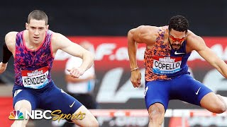 Yasmani Copello comes from behind to steal 400 hurdles Diamond League victory | NBC Sports