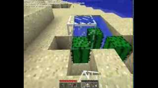 Minecraft - Come fare un inceneritore fatto di cactus!