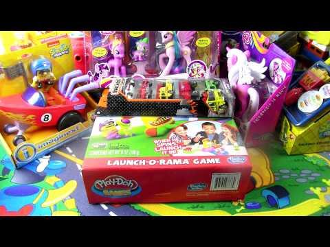 Play Doh , My Little Pony , Sponge Bob , игрушки для детей video