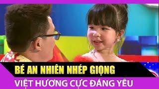 Không thể nhịn cười với màn nhép giọng Việt Hương của bé An Nhiên Bối Bối   Bản Lĩnh Nhóc Tỳ Tập 24