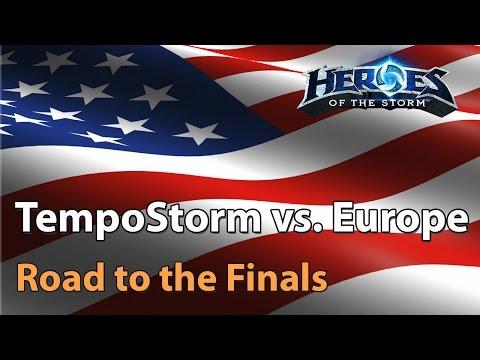TempoStorm vs. Europe (LDLC, EL Nexo & more) - Heroes of the Storm