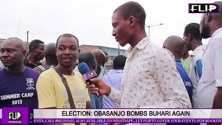 ELECTION: OBASANJO BOMBS BUHARI AGAIN -  NIGERIANS REACT