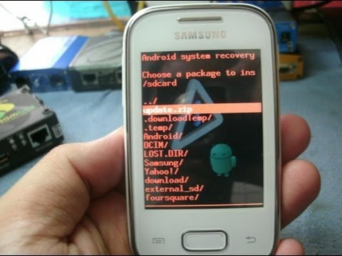 How to Root Samsung Galaxy Pocket and  Duos   In less than  2 Minutes By Android Techmac!