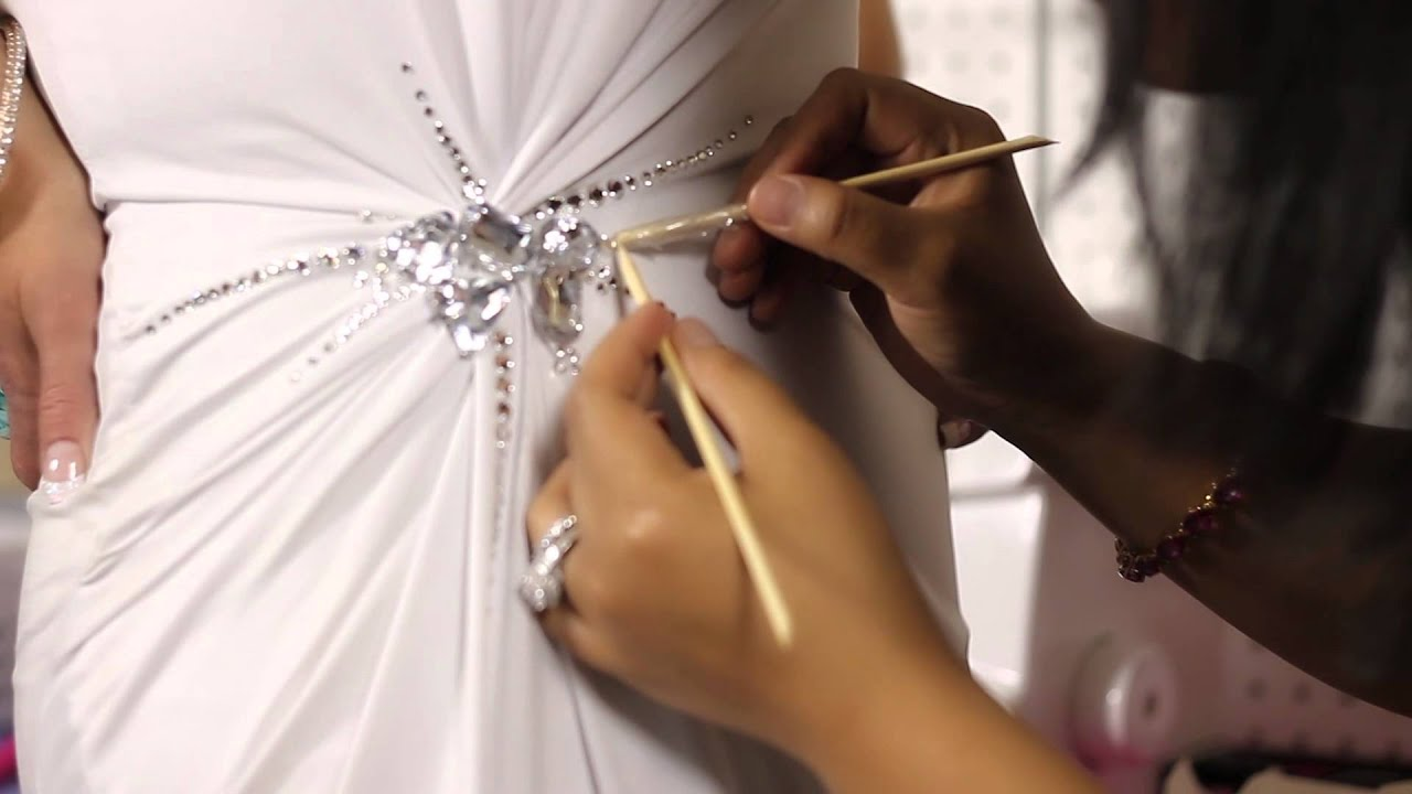 How to Stone a Pageant Dress