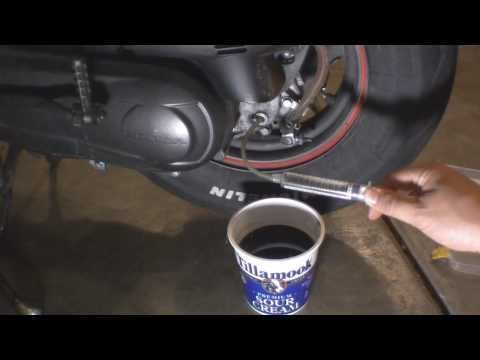 Honda Ruckus Gear Oil Change Video