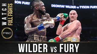 Wilder vs Fury 1 FULL FIGHT: PBC on Showtime - December 1, 2018