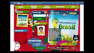 Sticker Album Online Brazil 2014 World Cup Panini Review Codes / Codigos Copa del Mundo Brasil 2014
