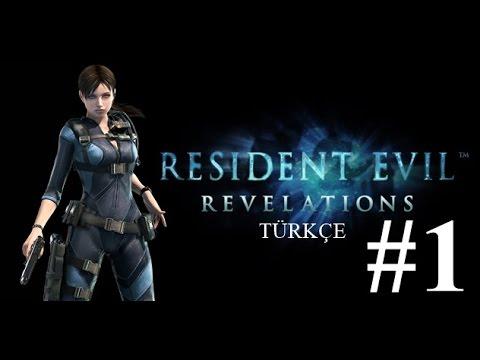 Resident Evil Revelations T�rk�e Part 1 B�l�m 1 Derinliklerin ��inde