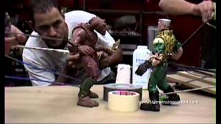 SMALL SOLDIERS Behind-the-Scenes Puppet Battle Rehearsal