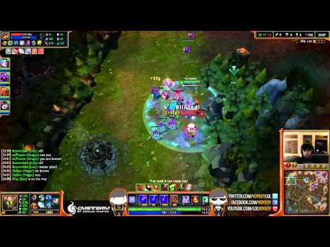 Crs Voyboy Malphite vs Teemo top (Diamond I) [LOL]