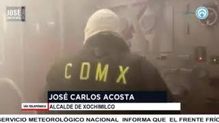 José Carlos Acosta, alcalde Xochimilco, en entrevista con José Cárdenas informa
