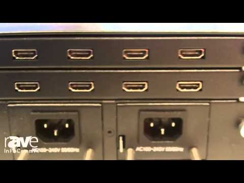 InfoComm 2014: DigiBird Shows Video Wall Controllers with Modular Design