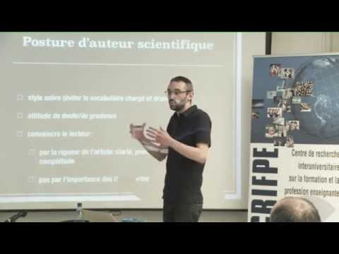Simon COLLIN - La rédaction d'articles scientifiques