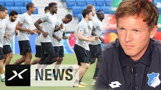CL-Quali: England schocken? Das sagt Julian Nagelsmann | Hoffenheim - Liverpool