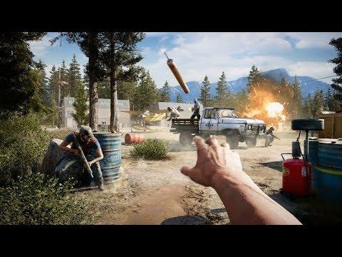 2 часа в Far Cry 5. ГЕЙМПЛЕЙ - БОМБА! Впечатления. Теперь одна из самых ожидаемых игр 2018 года.