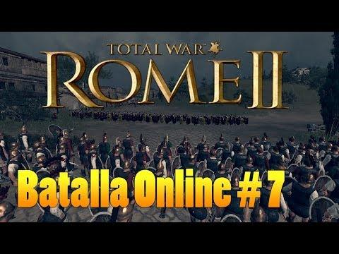 Rome II TW Batallas Online 2vs2 | Carros for the win!  | Español
