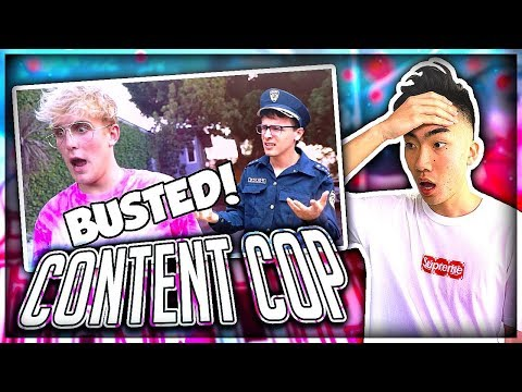 Reacting to IDubbbz's Content Cop on Jake Paul