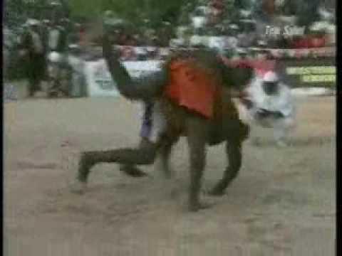Lutte traditionnelle : Oumarou Bindigaou (Maradi) vs Boubé Boureima (Dosso) thumbnail