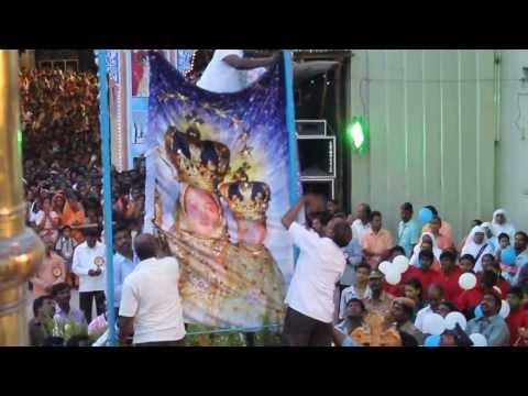 Annai Velankanni Flag Hoisting Ceremony 2013-shoot By Makkal Idhayam Team video