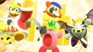 Kirby Star Allies - All Team-Up Attacks