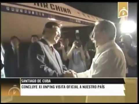 Concluye Xi Jimping visita oficial a Cuba
