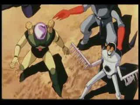 Go Nagai Robots Family