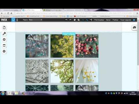 Como criar um site no wix