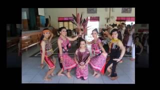 Ujian Praktik Seni Dan Budaya Kelas XII  SMA Santo Paulus Pontianak