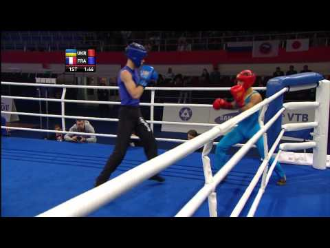 Savate Mens Combat  60kg Final Image 1