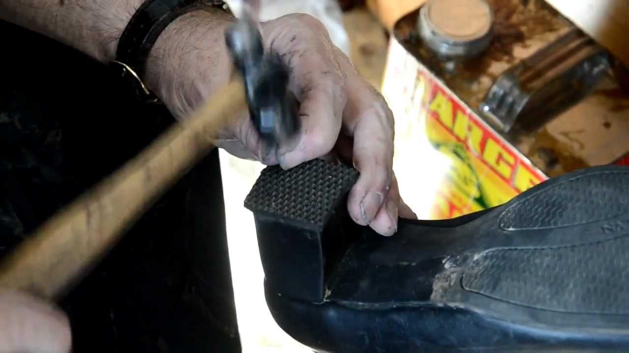 Rubber Shoes Soles Repair