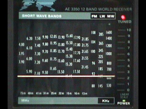 AM-band, tropical band and shortwave radio band stations no. 2