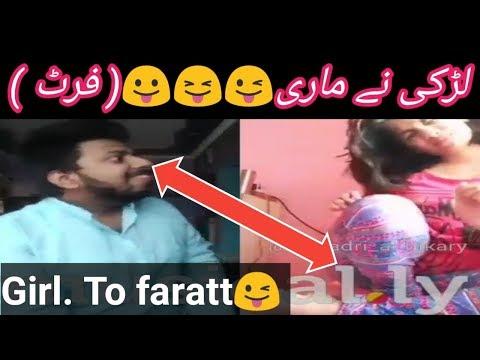 Girl farating in video| #Musically Dubmash Reaction Prank|| WhatsApp status